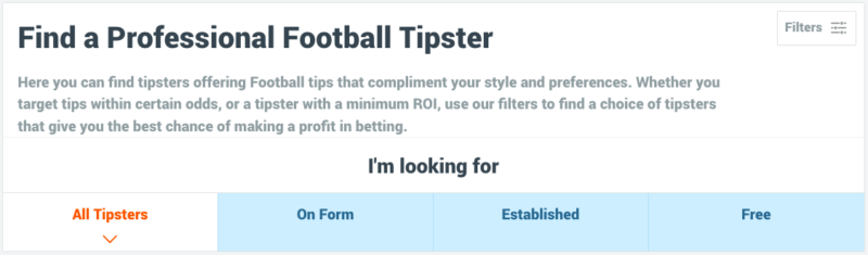 Tipstrr Find a Professional Football Tipster