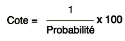 Calculer Value Bet Formule Probabilité en Cote